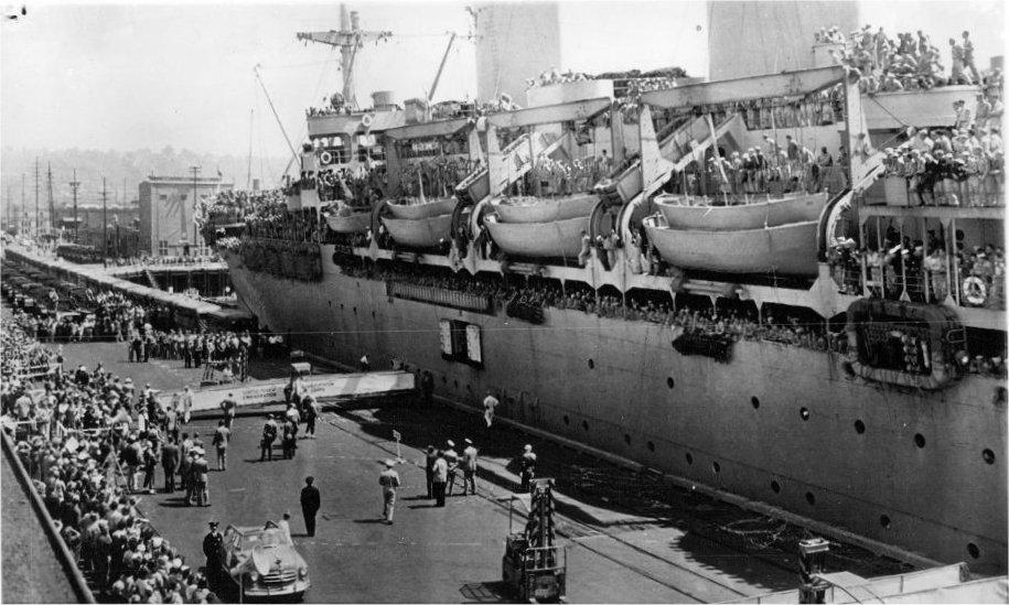 At Seattle Pier 39, Aug 2 1951 (AP)