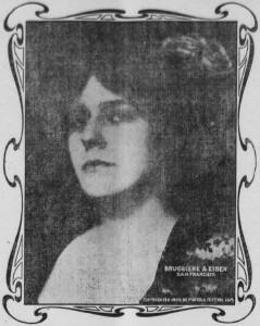 Virgilia Bogue 1909 05 14 Amador Ledger