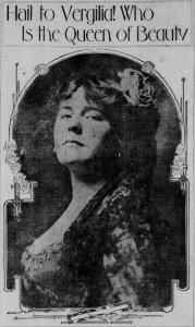 Virgilia Bogue - SF Call -  8 May 1909