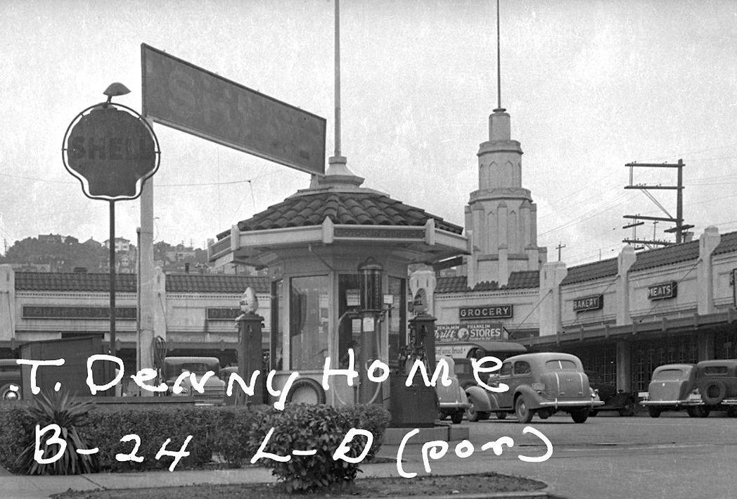 Uptown's Motor-In Market, 1937