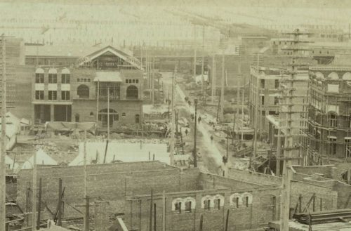 Occidental and Washington, August 1889
