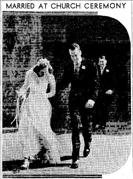 Brygger wedding in 1940